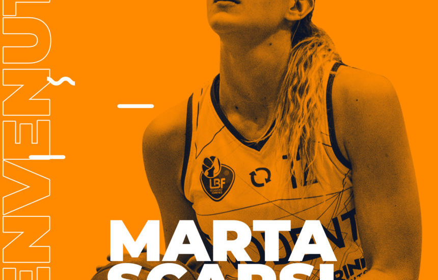 Basket. Marta Scarsi prima new entry in casa Delser
