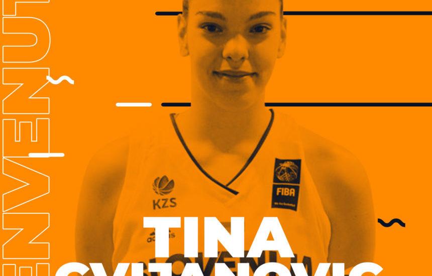 Basket. Tina Cvijanovic, nuovo tassello della Delser made in Slovenia