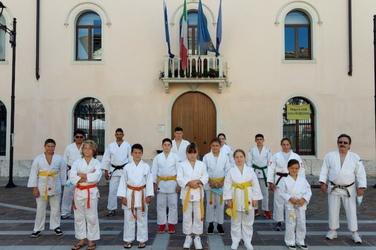 Judo On the square a Tolmezzo