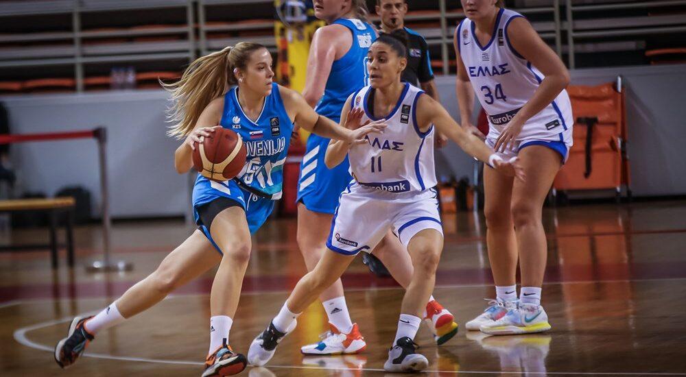 Basket. Percorso immacolato per la Slovenia della Cvijanovič