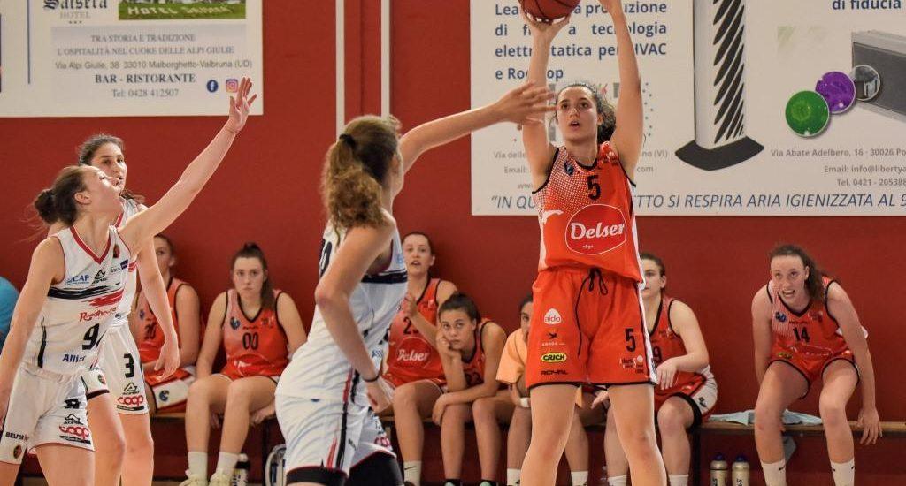 Basket. Coppa Italiana U18 Femminile. Delser in semifinale