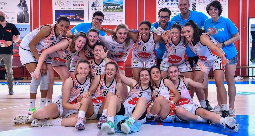 Basket. Coppa Italiana U18. Terzo posto per la Delser