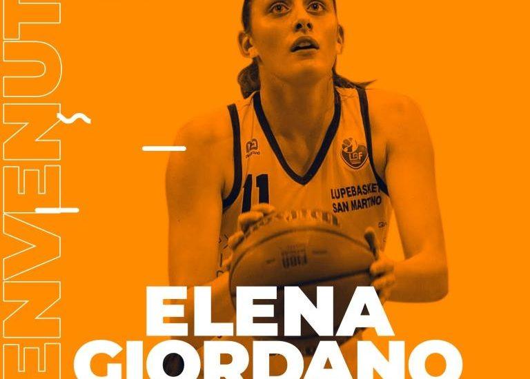 Basket. La Delser accoglie Elena Giordano