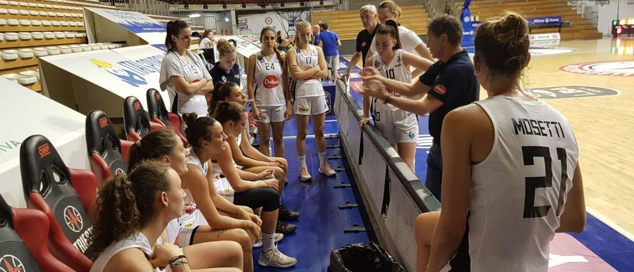 Basket. L'ultima amichevole Women Apu contro Futurosa alle padrone di casa triestine